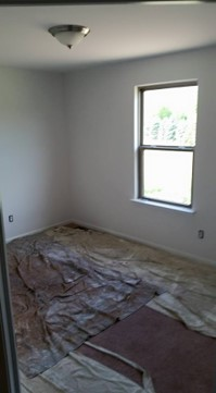 residential interior after paint job